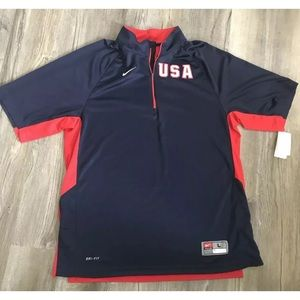 NEW NIKE Team USA Jersey Shirt Sz L
